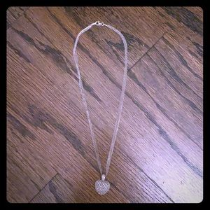 Silver Heart Necklace.